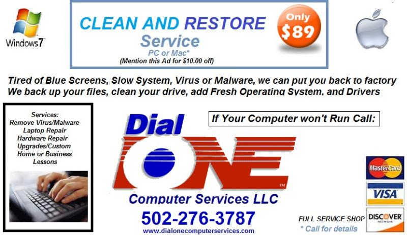 Dial One New Ad for 2011